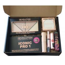 Makeup Revolution Zestaw prezentowy do makijażu - box nr 1  1op.