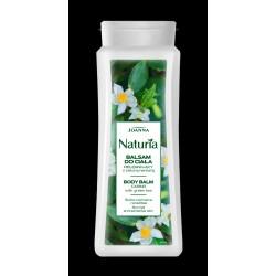 Joanna Naturia Balsam do ciała pielęgnacyjny z Zieloną Herbatą  do skóry wrażliwej i normalnej 500ml