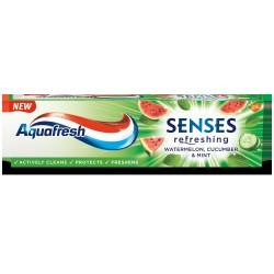 Aquafresh Pasta Senses refreshing Arbuz Ogórek & Mięta 75ml
