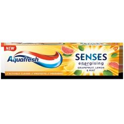 Aquafresh Pasta Senses energising Grejfrut Cytryna & Mięta 75ml
