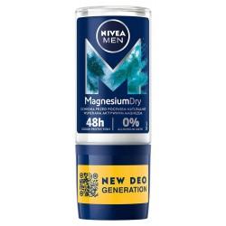 NIVEA*DEO Roll-on męski MAGNESIUM DRY 83129&