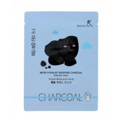 Beauty Kei Maseczka na płacie oczyszczająca Charcoal  1sztuka