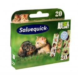 Salveqiuck Plastry Animal Planet dla dzieci  1op-20szt
