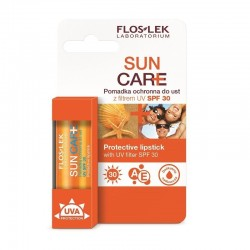 Floslek Sun Care Pomadka ochronna do ust SPF30  1szt