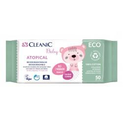 HARPER*CLEANIC Chust.i dla dzieci ECO Atopic 50szt
