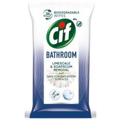 Cif Chusteczki nawilżane do czyszczenia łazienek 36szt