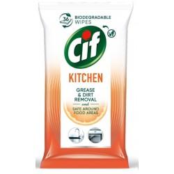 Cif Chusteczki nawilżane do czyszczenia kuchni 36szt