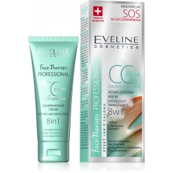 Eveline Face Therapy SOS Krem CC 8w1 na zaczerwienienia  30ml
