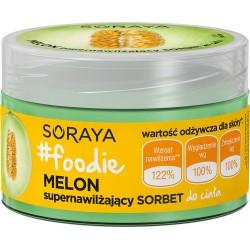 Soraya Foodie Melon Supernawilżający Sorbet do ciała  200ml