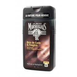 Le Petit Marseillais Żel pod prysznic 3w1 dla mężczyzn Drzewo Cade  250ml