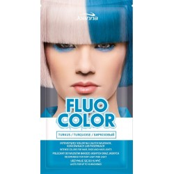 Joanna Fluo Color Szampon koloryzujący w saszetce Turkus  35g