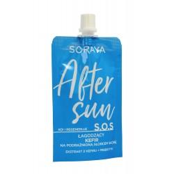 Soraya After Sun Łagodzący Kefir S.O.S.na podrażnioną słońcem skórę  50ml