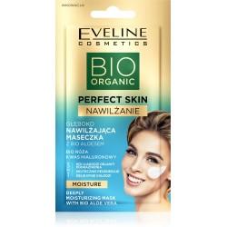 Eveline Bio Organic Perfect Skin Głęboko Nawilżająca Maseczka z bio aloesem 8ml