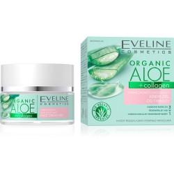 EVELINE ORGANIC Żel naw-łagodzący Aloe+Collagen