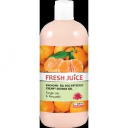 Fresh Juice Żel pod prysznic kremowy Mandarynka i Dziki Imbir 500ml
