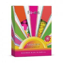Bi-es Paradiso Woman Komplet Woda Perfumowana + Deo spray