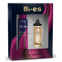 Bi-es Gloria Sabiani Zestaw prezentowy (dezodorant spray 150ml+woda perfumowana 50ml)