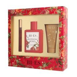 Bi-es Blossom Roses Komplet (woda perfumowana 100ml+parfum 12ml+żel pod prysznic 50ml)