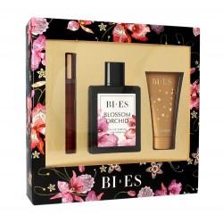 Bi-es Blossom Orchid Komplet (woda perfumowana 100ml+parfum 12ml+żel pod prysznic 50ml)