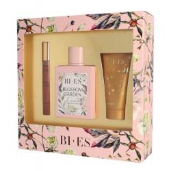 Bi-es Blossom Garden Komplet (woda perfumowana 100ml+parfum 12ml+żel pod prysznic 50ml)