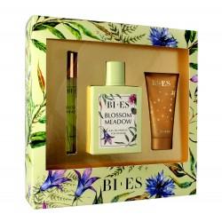 Bi-es Blossom Meadow Komplet (woda perfumowana 100ml+parfum 12ml+żel pod prysznic 50ml)