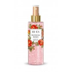 Bi-es Sparkling Body Mist Mgiełka do ciała rozświetlająca Blossom Roses  200ml