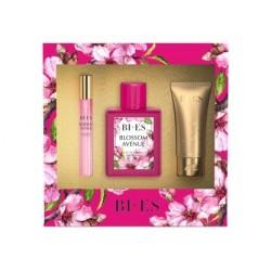 Bi-es Blossom Avenue Komplet (woda perfumowana 100ml+parfum 12ml+żel pod prysznic 50ml)