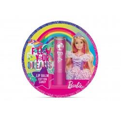 Bi-es for Kids Pomadka ochronna do ust Barbie Cotton Candy 1szt