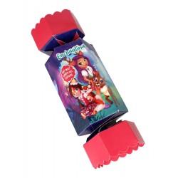 Bi-es Enchantimals-Cukierek Zestaw prezentowy dla dzieci (żel p/prysznic 100ml+mgiełka 80ml+naklejki)