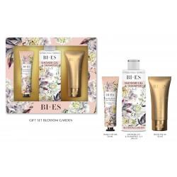 Bi-es Blossom Garden Komplet (krem do rąk 50ml+żel pod prysznic 200ml+balsam 50ml)