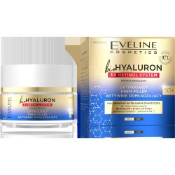 EVELINE BIOHYALURON 3XRETINOL Krem 50+ d/n