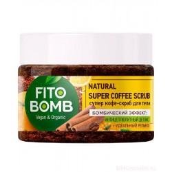 FITO BOMB Scrub do ciała kawowy Antycellulitowy