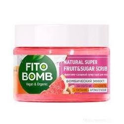 FITO BOMB Scrub do ciała cukrowo-owocowy Odnowieni