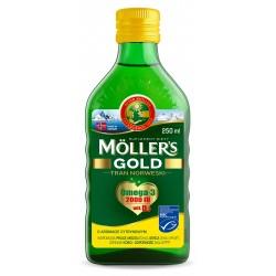 MOLLER`S Tran Norweski Cytrynowy Gold - suplement diety 250ml