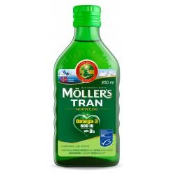 MOLLER`S Tran Norweski Jabłkowy - suplement diety 250ml