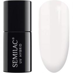 SEMILAC Lakier hybrydowy 001 Strong White - 7 ml