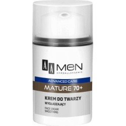 AA Men Advanced Care Mature 70+ Krem do twarzy wygładzający 50ml
