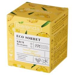 Bielenda Eco Sorbet Ananas Krem nawilżająco-rozświetlający na dzień i noc  50ml