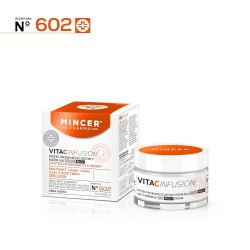 Mincer Pharma Vita C Infusion Krem przeciwzmarszczkowy na dzień i noc nr 602   50ml