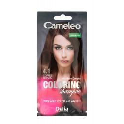 Delia Cosmetics Cameleo Szampon koloryzujący nr 4.1 Kawowy Brąz  1szt