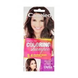 Delia Cosmetics Cameleo Szampon koloryzujący nr 5.4 Kasztanowy Brąz  1szt