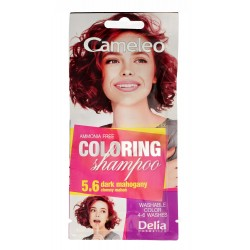 Delia Cosmetics Cameleo Szampon koloryzujący nr 5.6 Ciemny Mahoń  1szt