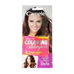 Delia Cosmetics Cameleo Szampon koloryzujący nr 6.3 Orzechowa Mocha  1szt