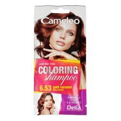 Delia Cosmetics Cameleo Szampon koloryzujący nr 6.53 Złoty Karmel  1szt