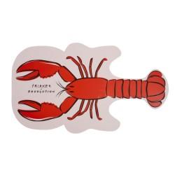 Makeup Revolution Friends Lusterko kosmetyczne Lobster 1szt