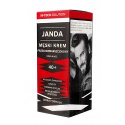 JANDA Men Męski Krem 40+ przeciwzmarszczkowy na dzień i noc 50ml