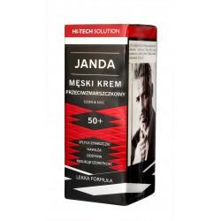 JANDA Men Męski Krem 50+ przeciwzmarszczkowy na dzień i noc 50ml