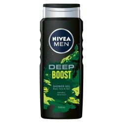 Nivea Men Żel pod prysznic Deep Boost 500ml