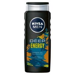 Nivea Men Żel pod prysznic Deep Energy 500ml