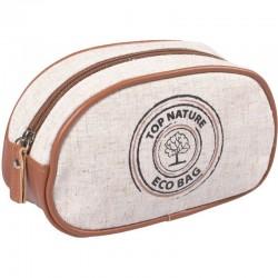 "Top Choice Kosmetyczka damska ""TOP NATURE"" - eco bag (98680) - 1szt"